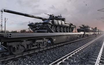 Carri armati pronti per essere ricollocati - © Corona Borealis Studio/Shutterstock