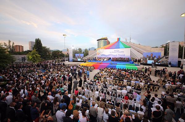 Tirana, un evento della tre giorni promossa da Sant'Egidio (Foto della Comunità di Sant'Egidio)