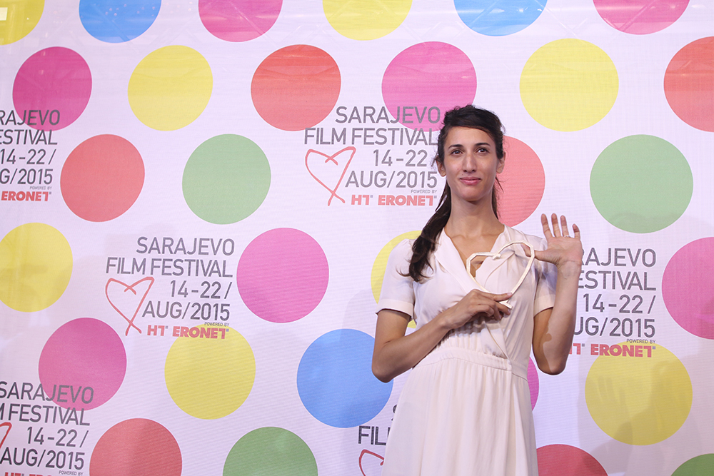 La regista Deniz Gamze Ergüven a Sarajevo