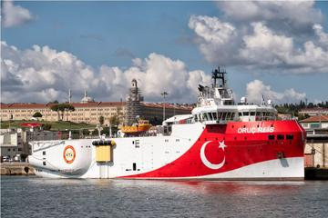 La nave da ricerca sismica turca Oruç Reis - © Photo Oz/Shutterstock