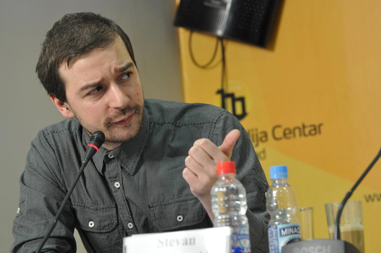 Stevan Dojčinović (foto Medija centar Beograd)