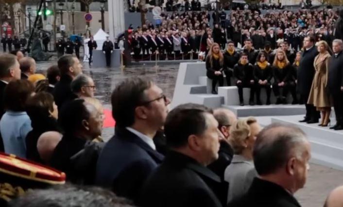 Aleksandar Vučić a Parigi