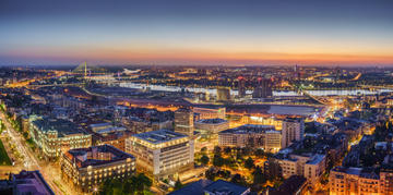 Belgrado di notte © Predrag Mladenovic/Shutterstock