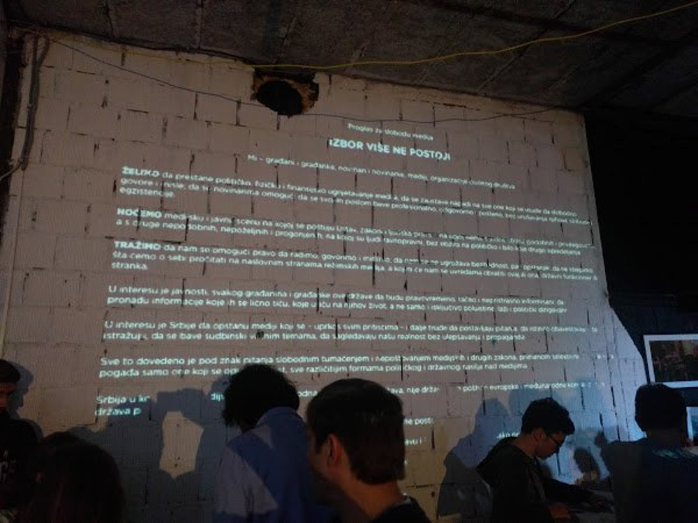Belgrado, 5 ottobre, dichiarazione per la libertà di stampa (Slavko Curuvija Fondacija).jpg