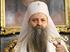 Il patriarca Porfirije durante la cerimonia di intronamento a Belgrado - Foto Wikipedia