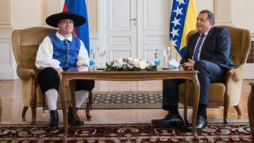 Damijan Sedar e Milorad Dodik