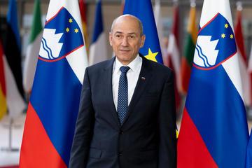 Il primo ministro sloveno Janez Janša