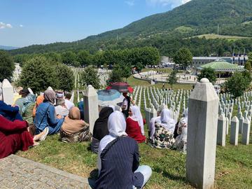 Srebrenica, Memoriale di Potočari 2020 - Foto © Ado Hasanović