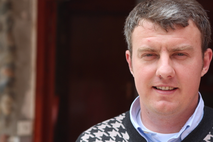 Avdo Purković, figlio di Dule - Srebrenica 2014 (foto OBC)