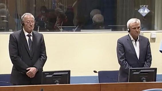 Stanišić e Simatović (Foto ICTY)