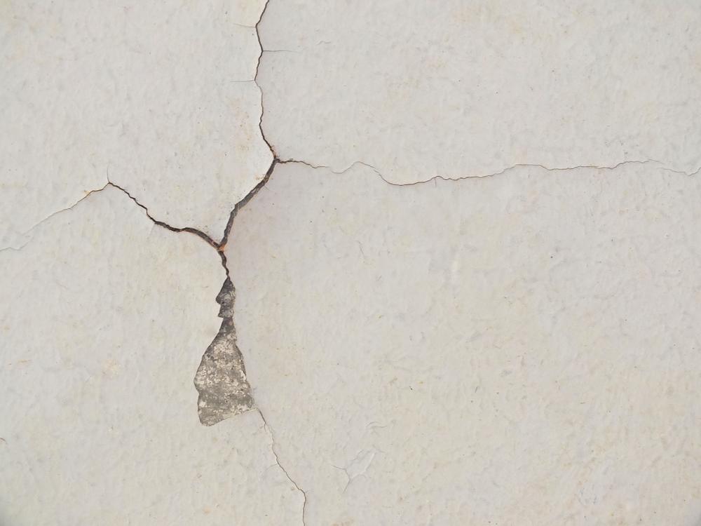 Una crepa su di un muro