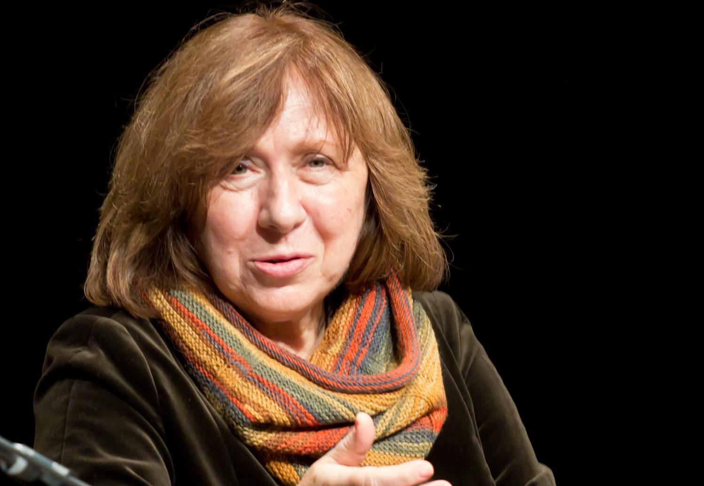 Svetlana Aleksievič (Elke Wetzig - Opera propria, CC BY-SA 4.0)