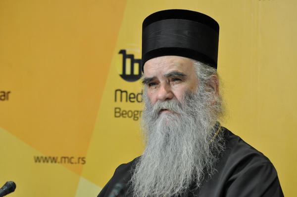 Metropolita Amfilohije Radović (foto Media Centar Belgrado)