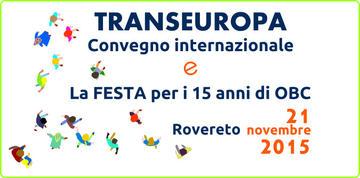 TransEuropa, logo conferenza di OBC
