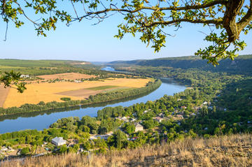 Il fiume Dniester © Serghei Starus/Shutterstock