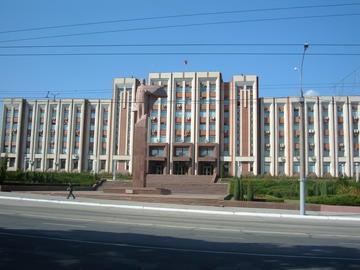 Sede del Parlamento in Transnistria (foto Monk)