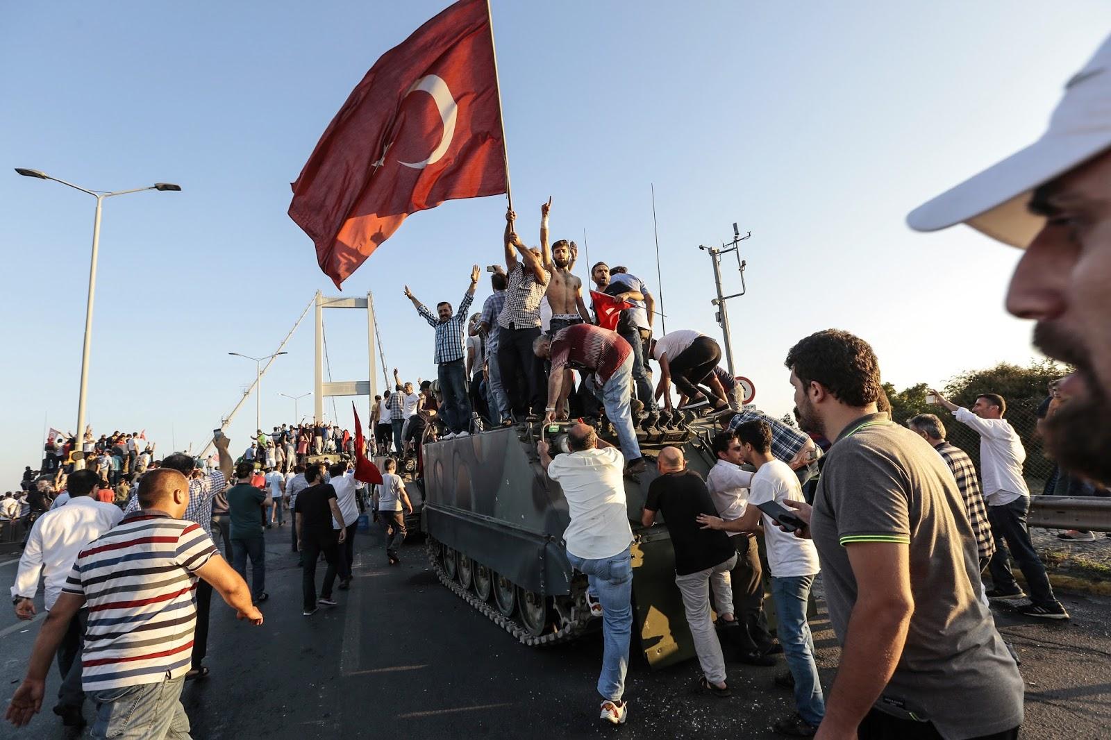 Tentato golpe in Turchia