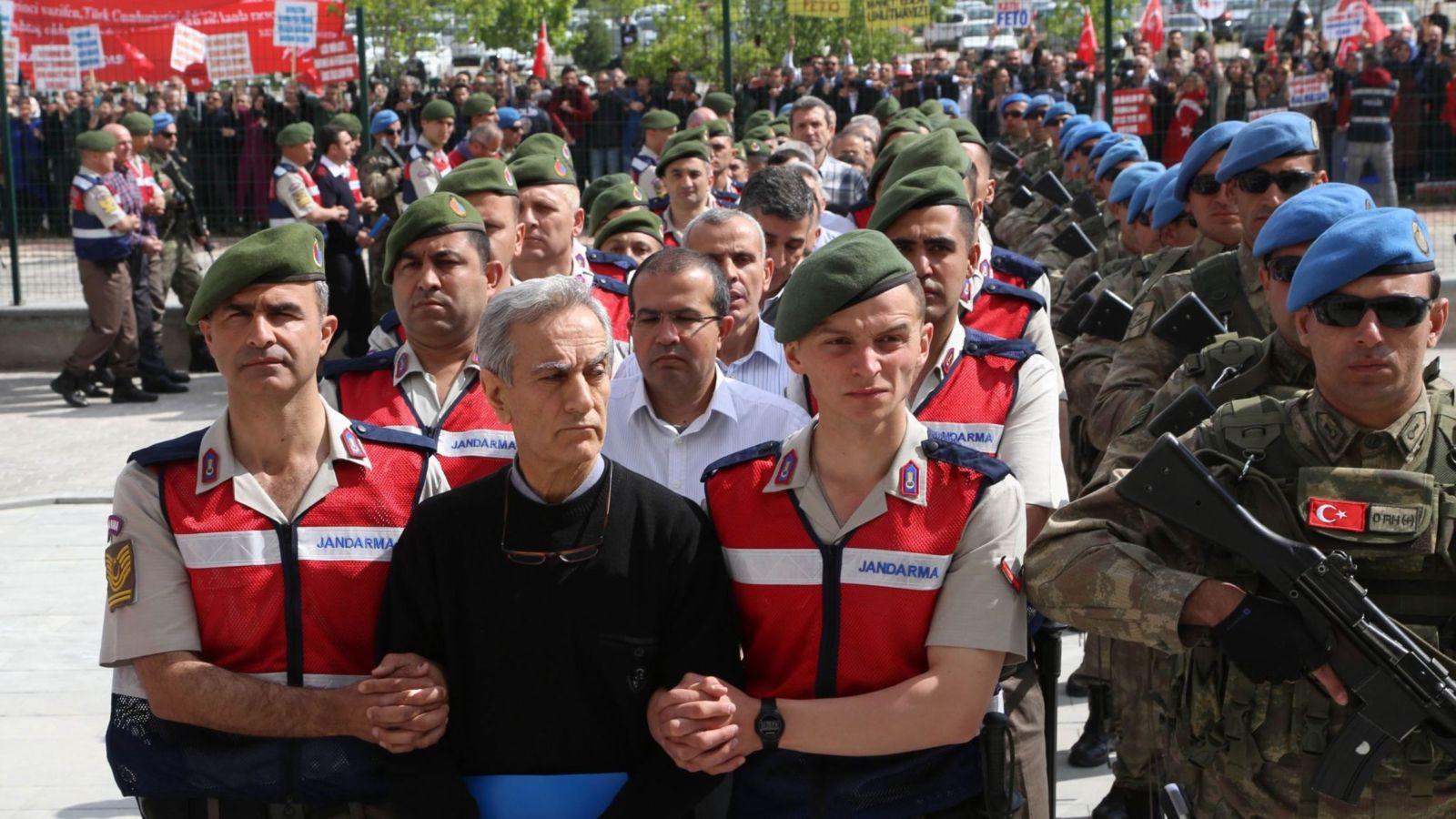 Processo golpisti in Turchia