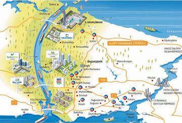 Illustrazione del Canale di Istanbul - Ministero dei Trasporti turco