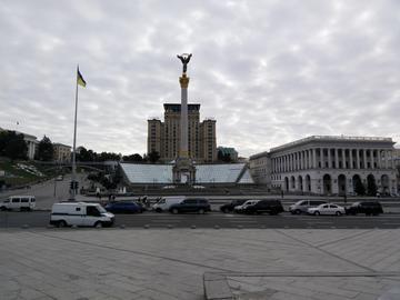 Piazza Majdan (foto P. Bergamaschi)