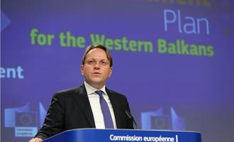 EU Commissioner for Enlargement Olivér Várhelyi presents the 2020 enlargement package for the Western Balkans in Brussels - © Alexandros Michailidis/Shutterstock
