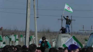 Proteste a Nazran, Ingushetia (Malik Butayev/OC Media)