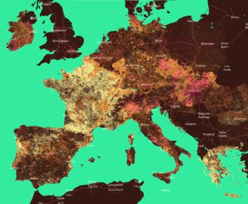 anteprima della mappa interattiva