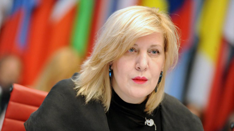 Dunja Mijatović - foto Consiglio D'Europa