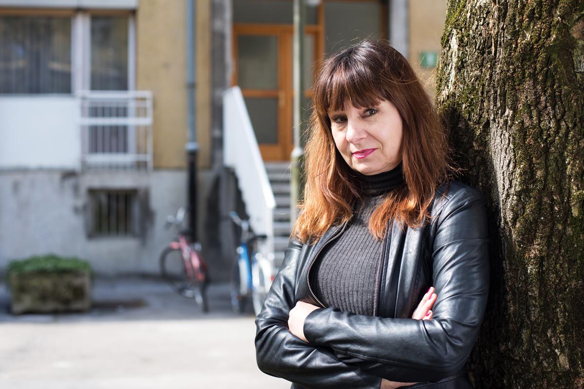 Violeta Tomič - immagine tratta dal portale della Sinistra europea
