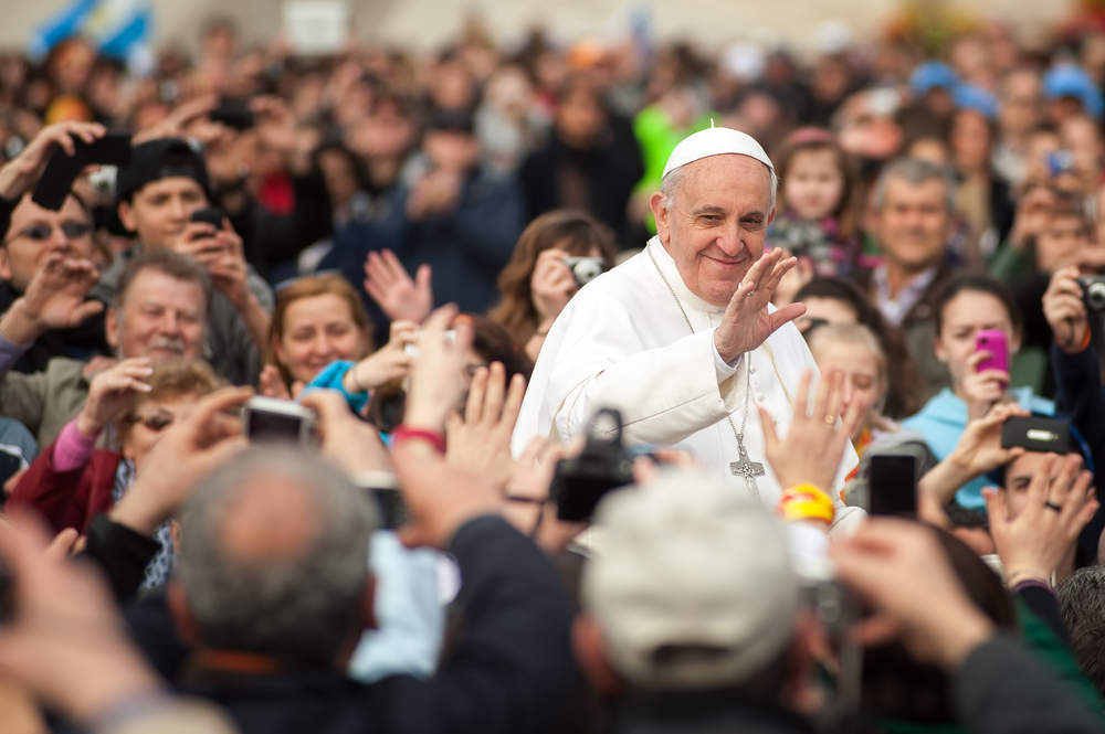 Papa Francesco - Boris Stroujko/Shutterstock