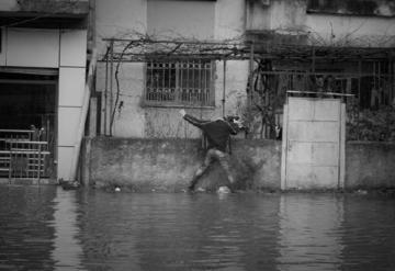 Diluvio in Albania