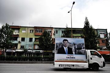 Elezioni amministrative a Tirana 2011 - Marjola Rukaj