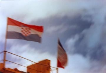 Croazia bandiere al vento, foto di Claudio Riccio - Flickr.com