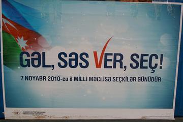 """Azerbaijan: """"Come, vote, elect"""""""