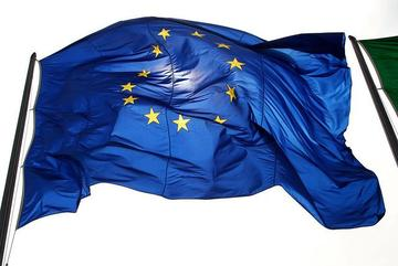 Bandiera europea, foto di Davide DeNova - Flickr.com