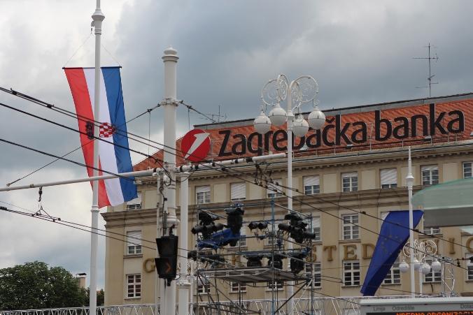 Zagabria, preparativi all'ingresso in Ue - foto di Nicole Corritore per Obc