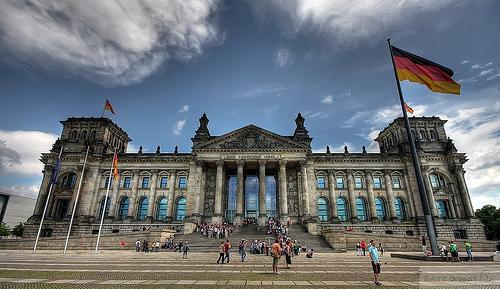 Bundestag tedesco (foto Arne Bevaart)