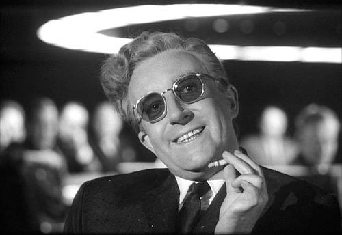 Il dott. Stranamore, di Stanley Kubrick (Foto Pikturz, Flickr)