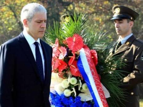 Boris Tadic a Vukovar