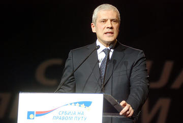Boris Tadić, presidente della Serbia e neo eletto presidente del DS