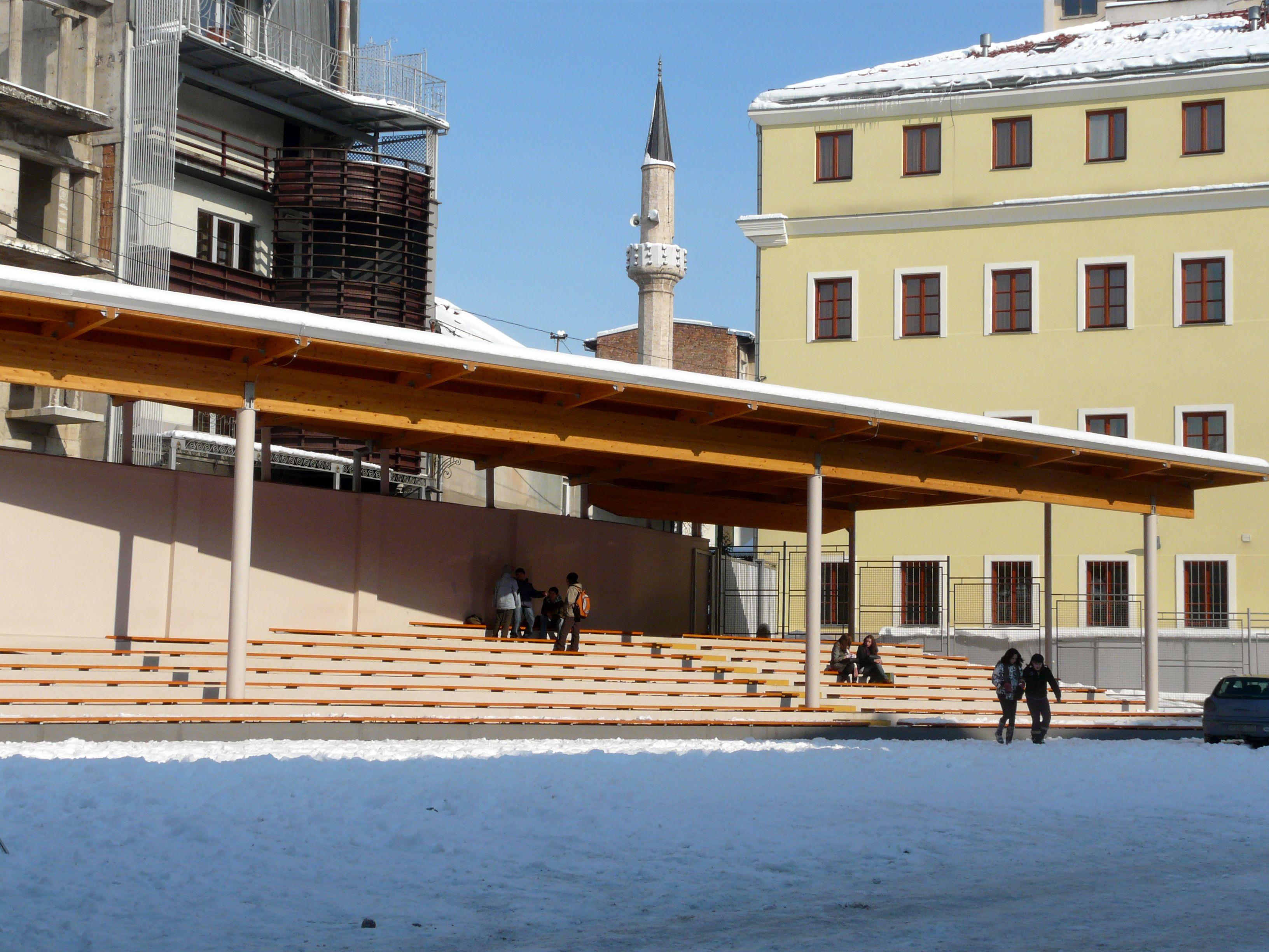 Una scuola in Bosnia Erzegovina (Foto Cecilia Ferrara)