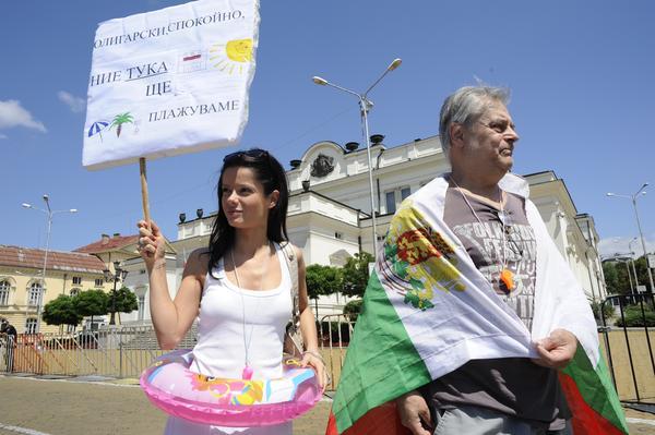 Proteste in Bulgaria