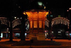 Sarajevo di notte, foto di wstuppert - Flickr.com