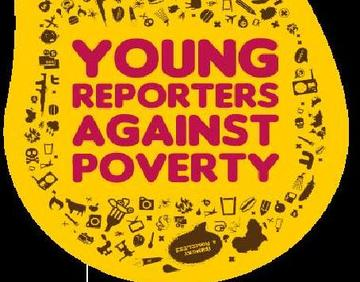 Logo concorso Young reporters against poverty