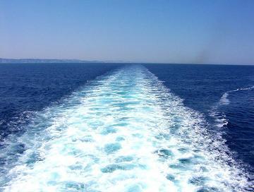 In pieno mare Adriatico, foto di TheOne - Flickr.com