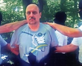 Goran Hadžić dopo l'arresto