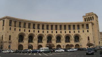 Yerevan, il ministero degli Esteri dell'Armenia (Foto Ilenia Santin)