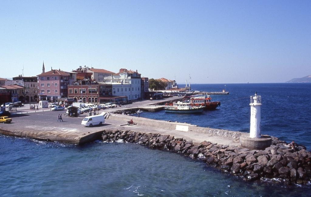 Il porto di Çanakkale sui Dardanelli