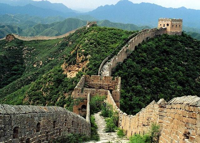 La Grande Muraglia cinese - DragonWoman/flickr