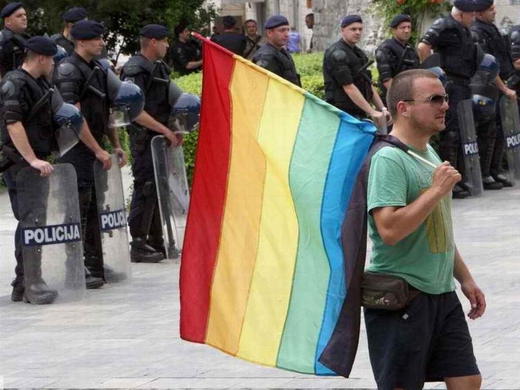 Gay pride Spalato 2012